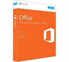 Офисное приложение Microsoft Office 2016 Home and Student Ukrainian Medialess P2 (79G-04633)