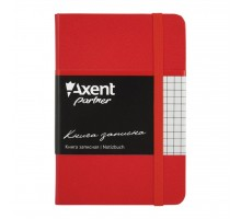Канцелярская книга Axent Partner, 95*140, 96sheets, square, red (8301-03-А)