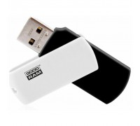 USB флеш накопитель GOODRAM 16GB UCO2 (Colour Mix) Black/White USB 2.0 (UCO2-0160KWR11)