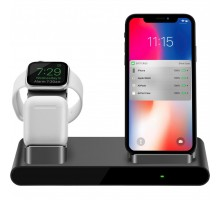 Док-станция PRESTIGIO ReVolt A1, charging station for iPhone, Apple Watch, AirPods (PCS101A_SG)