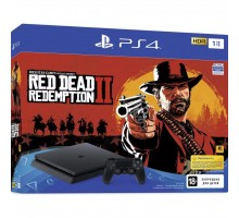 Игровая консоль SONY PlayStation 4 Slim 1Tb Black (+Red Dead Redemption 2) (9760016)