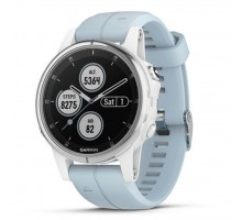 Смарт-часы Garmin Fenix 5s Plus White with Sea Foam Band (010-01987-23)