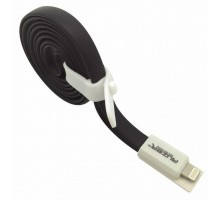 Дата кабель USB 2.0 – Lightning 8-pin Black AUZER (AC-L1BK)