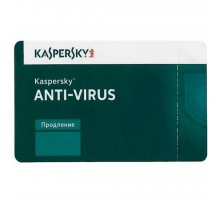 Антивирус Kaspersky Anti-Virus 1 ПК 2 year Renewal License (KL1171XCADR)