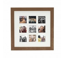 Фоторамка Fujifilm INSTAX 9 MOUNT SQUARE FRAME DARK OAK (70100139147)