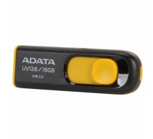 USB флеш накопитель ADATA 16Gb UV128 black-yellow USB 3.0 (AUV128-16G-RBY)