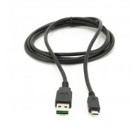 Дата кабель USB 2.0 Micro 5P to AM 0.3m Cablexpert (CC-mUSB2D-0.3M)