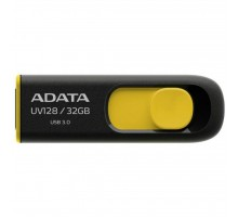 USB флеш накопитель ADATA 32GB UV128 Black-Yellow USB 3.0 (AUV128-32G-RBY)