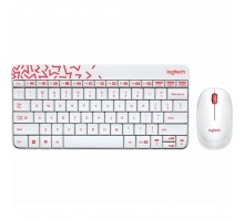 Комплект Logitech Wireless Combo MK240 Ru White (920-008212)