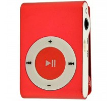 mp3 плеер TOTO Without display&Earphone Mp3 Red (TPS-03-Red)