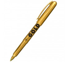 Маркер Centropen GOLD & SILVER 2690 B 1,5-3 мм, Gold color (2690/12)