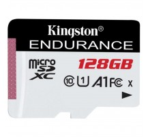 Карта памяти Kingston 128GB microSD class 10 UHS-I U1 A1 High Endurance (SDCE/128GB)