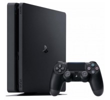 Игровая консоль SONY PlayStation 4 Slim 1Tb Black (Call of Duty WWII) (9942269)