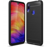 Чехол для моб. телефона Laudtec для Xiaomi Redmi Note 7 Carbon Fiber (Black) (LT-XRN7)