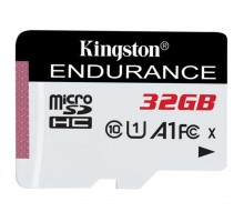 Карта памяти Kingston 32GB microSD class 10 UHS-I U1 A1 High Endurance (SDCE/32GB)
