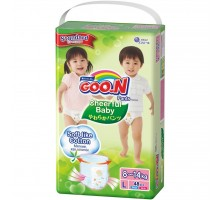 Подгузник GOO.N CHEERFUL BABY Трусики 8-14 кг L, унисекс, 48 шт (853881)