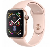 Смарт-часы Apple Watch Series 4 GPS, 44mm Gold Aluminium Case (MU6F2UA/A)
